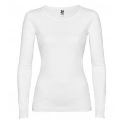 Dámské tričko s dlouhým rukávem Roly - Bílé