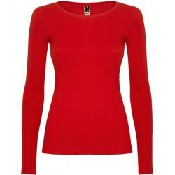 Dámské tričko s dlouhým rukávem Roly - Červené