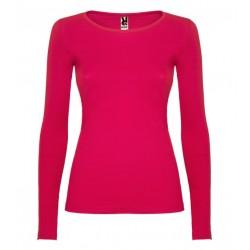 Dámské tričko s dlouhým rukávem Roly - Růžové