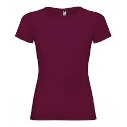Dámské tričko s krátkým rukávem Roly - Vínové