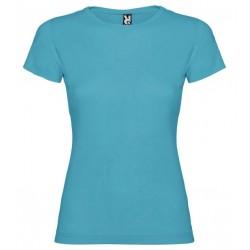 Dámské tričko s krátkým rukávem Roly - Tyrkysové