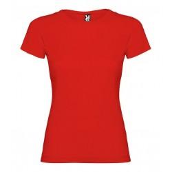 Dětské dívčí tričko bez potisku Roly - Červené
