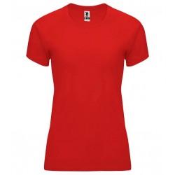 Dámské fitness tričko bez potisku Roly - Červené
