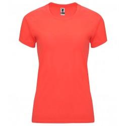 Dámské fitness tričko bez potisku Roly - Korálové