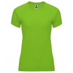 Dámské fitness tričko bez potisku Roly - Limetkové