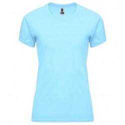 Dámské fitness tričko bez potisku Roly - Světle modré