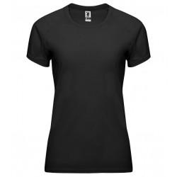 Dámské fitness tričko bez potisku Roly - Černé