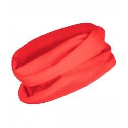 Multifunkční šátek bez potisku - Červený