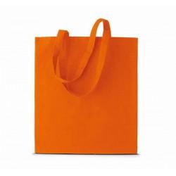 Bavlněná taška bez potisku - Oranžová