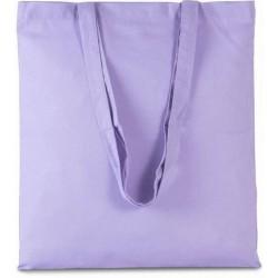 Bavlněná taška bez potisku - Světle fialová