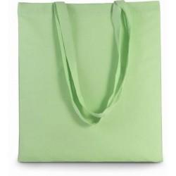 Bavlněná taška bez potisku - Pistáciová