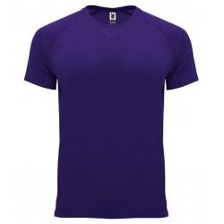 Pánské sportovní tričko bez potisku Roly - Tmavě fialové