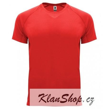 Pánské sportovní tričko bez potisku Roly - Červené