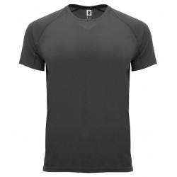 Pánské sportovní tričko bez potisku Roly - Tmavě šedé