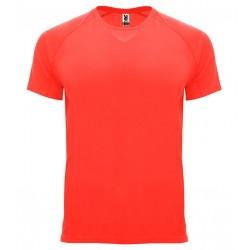 Pánské sportovní tričko bez potisku Roly - Korálové