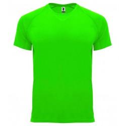 Pánské sportovní tričko bez potisku Roly - Zelené