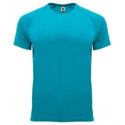 Pánské sportovní tričko bez potisku Roly - Tyrkysové