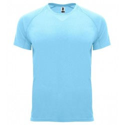 Pánské sportovní tričko bez potisku Roly - Světle modré
