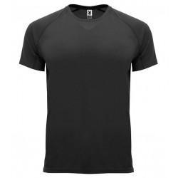 Pánské sportovní tričko bez potisku Roly - Černé
