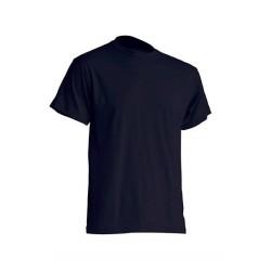 Pánské silnější tričko bez potisku - Tmavě modré