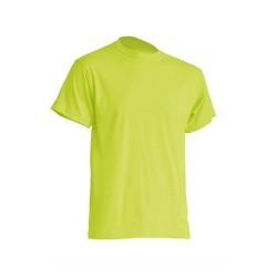Pánské silnější tričko bez potisku - Pistáciové