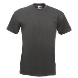 Pánské silné tričko bez potisku - Tmavě šedé