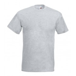 Pánské silné tričko bez potisku - Světle šedé