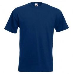 Pánské silné tričko bez potisku - Tmavě modré