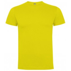 Tričko bez potisku - Žluté