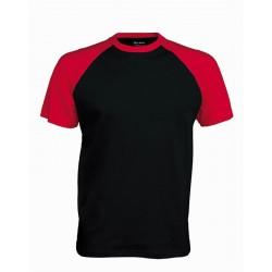 Pánské tričko bez potisku - Černé