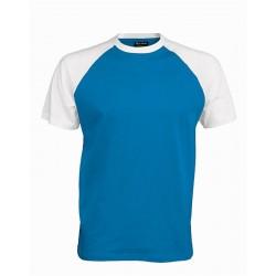 Pánské tričko bez potisku - Světle modré