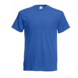 Lehčí tričko Fruit Of The Loom bez potisku - Modré