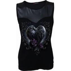 Dámské tričko Spiral Direct - Raven Heart