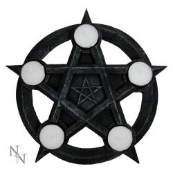 Dekorační Svícen - Pentagram