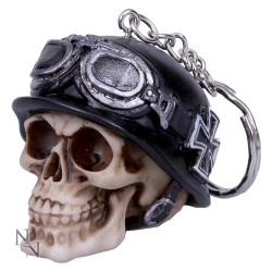 Klíčenka - Iron Cross Skull