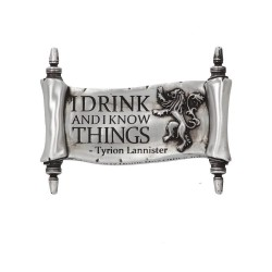 Magnet Game Of Thrones - I Drink And I Know Things