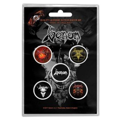Set Placek Venom - Black Metal