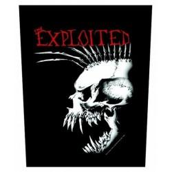 Nášivka The Exploited - Bastard Skull