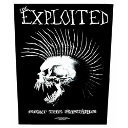 Nášivka The Exploited - Beat The Bastards