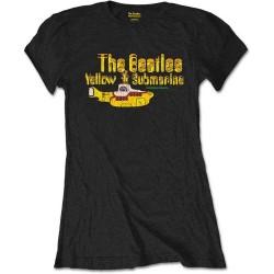 Dámské tričko The Beatles - Yellow Submarine