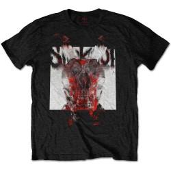 Pánské tričko Slipknot - Devil - Blur