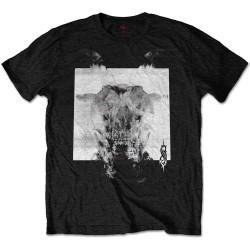 Pánské tričko Slipknot - Devil - Black & White