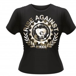 Dámské tričko Rise Against - Gearfist