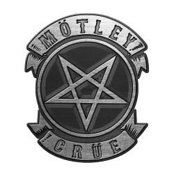 Přípínáček Mötley Crüe - Pentagram