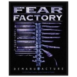 Nášivka Fear Factory - Demanufacture