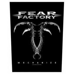 Nášivka Fear Factory - Mechanize
