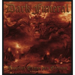 Nášivka s kapelou Dark Funeral - Angelus Exuro Pro Eternus