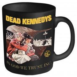 Hrnek Dead Kennedys - In God We Trust