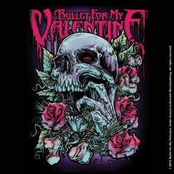 Podtácek Bullet For My Valentine - Skull Red Eyes