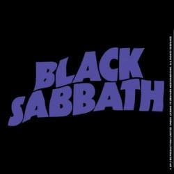 Podtácek Black Sabbath